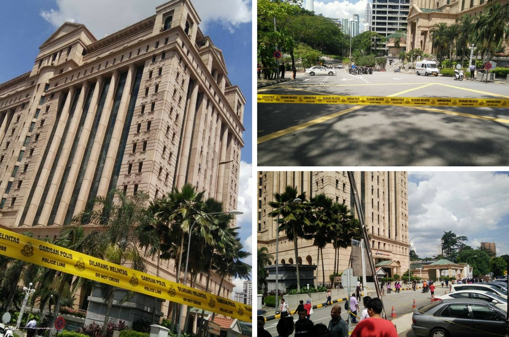 Ancaman Bom Selepas Solat Jumaat
