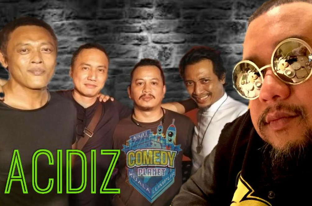 Evolusi Muzik Afdlin Shauki Di Comedy Planet KL