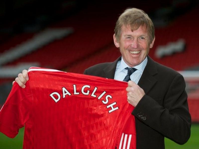 Dalglish pernah menjaringkan 169 gol dan berjaya menggondol 22 piala bersama Liverpool.