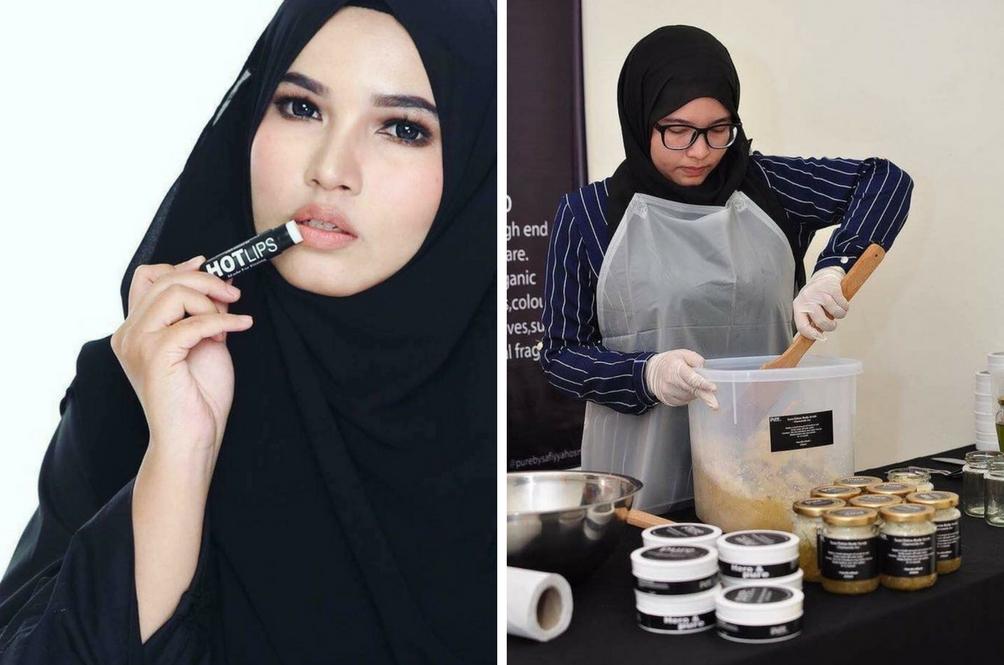 Gadis 'DIY' Ini Buktikan Bahan Makanan Di Rumah Boleh Dijadikan Produk Terlaris