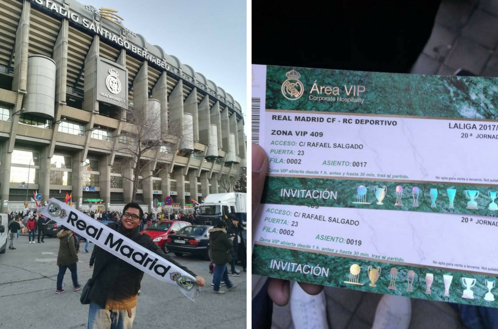 Pengalaman Jadi VIP Tonton Real Madrid, Remaja Ini Kongsi 'Tips' Menang Peraduan