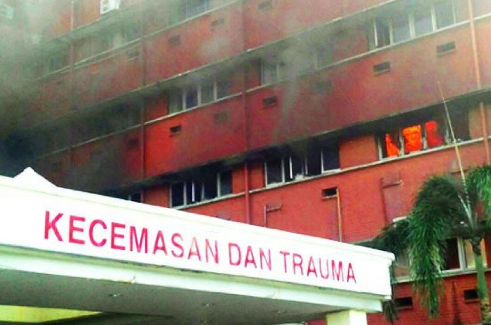[Video] Hospital Sultanah Aminah Terbakar Lagi