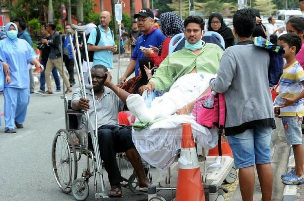 Berlaku Litar Pintas Di Hospital Sultanah Aminah