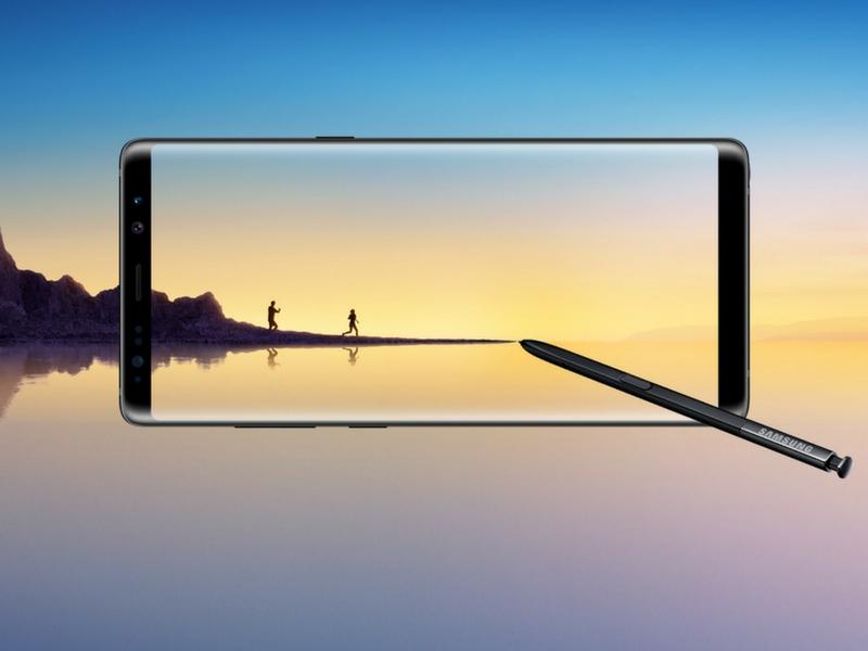 Skrin 'Infinity Display' pada Galaxy Note 8 menjadikan ia antara skrin terbaik di pasaran buat masa ini.
