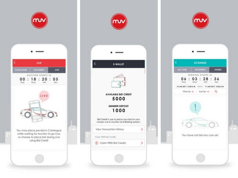 Aplikasi MUV Buy memudahkan bakal pembeli membeli kereta menerusi bidaan menerusi telefon pintar.