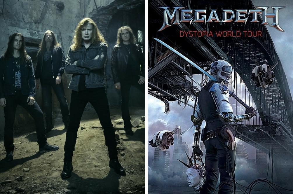 Dulu Dilarang Tapi Kini Megadeth Akhirnya Beraksi Di Kuala Lumpur