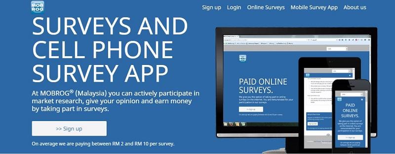 Satu kaji selidik membolehkan pengguna menerima bayaran di antara RM2 dan RM10.