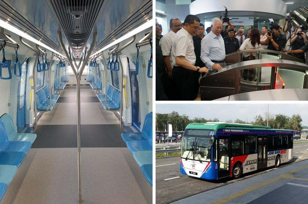 Jom Naik MRT Percuma Selama Sebulan
