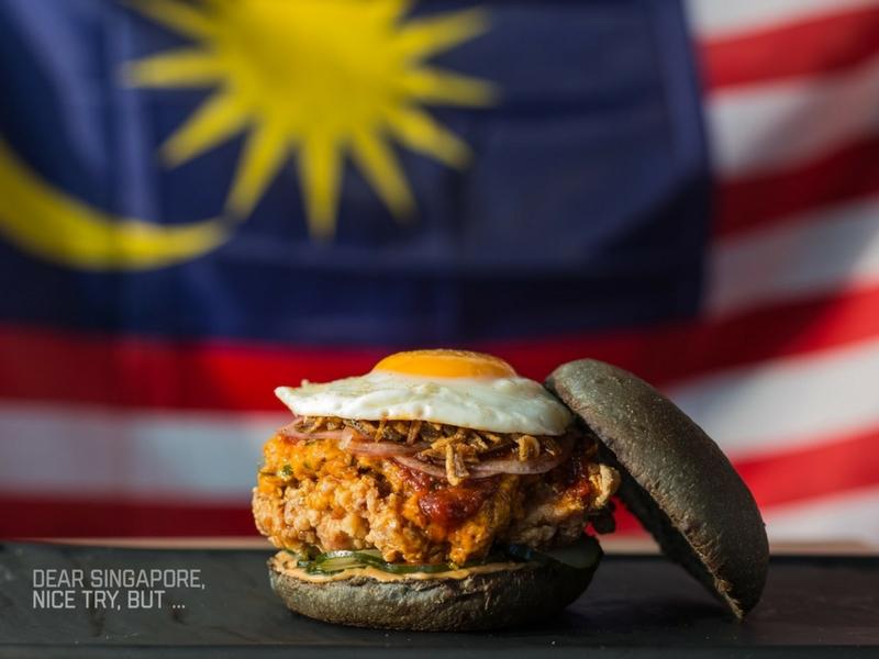 Resipi Burger Nasi Lemak Ayam Rendang sebenarnya dihasilkan semenjak tiga tahun lalu.