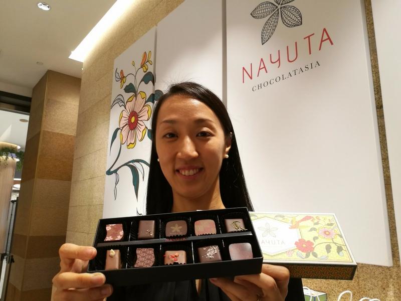 Khabarnya bukan penggemar coklat juga boleh jatuh cinta apabila makan di Nayuta.