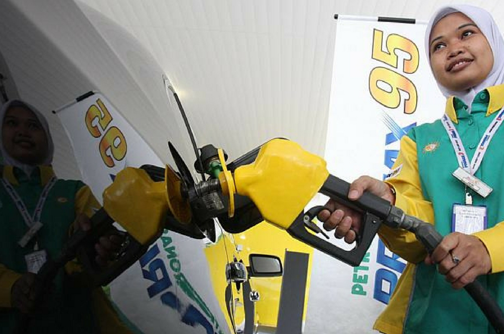 Petrol Naik 20 Sen, Diesel 10 Sen Bermula 1 Februari 2017