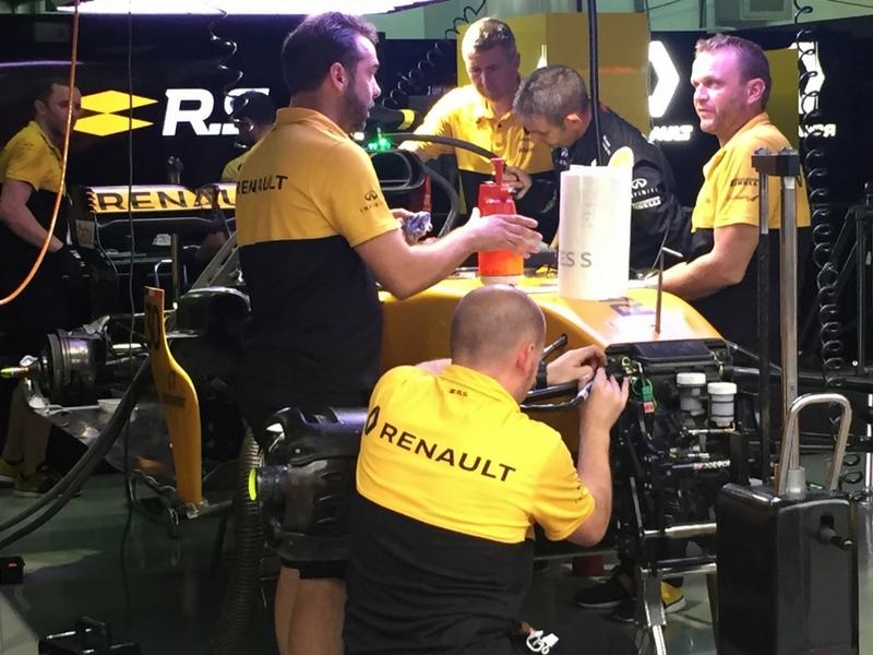 Pasukan Renault kembali beraksi dalam Formula 1 sejak tahun lalu.
