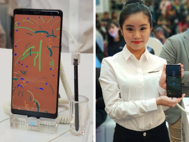 Samsung Galaxy Note 8 menjadi peranti terhebat Samsung ketika ini apabila ia dilengkapi pelbagai ciri dan fungsi canggih.