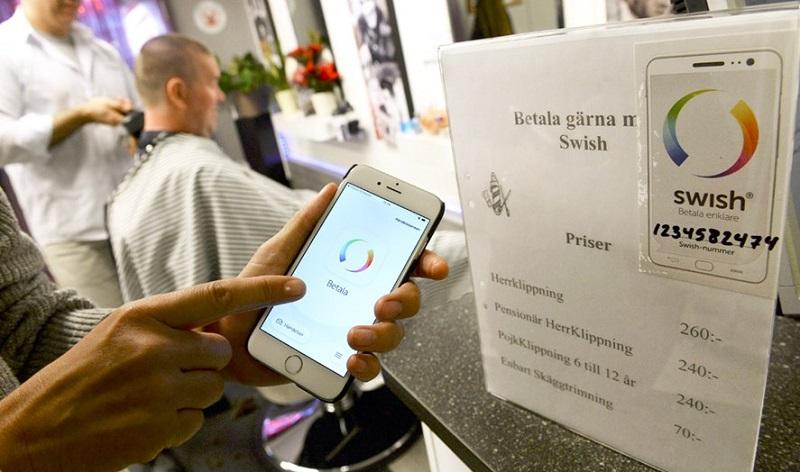 Tindakan Sweden menggunakan konsep tanpa tunai berjaya mengurangkan kadar kes rompakan bank di negara itu.
