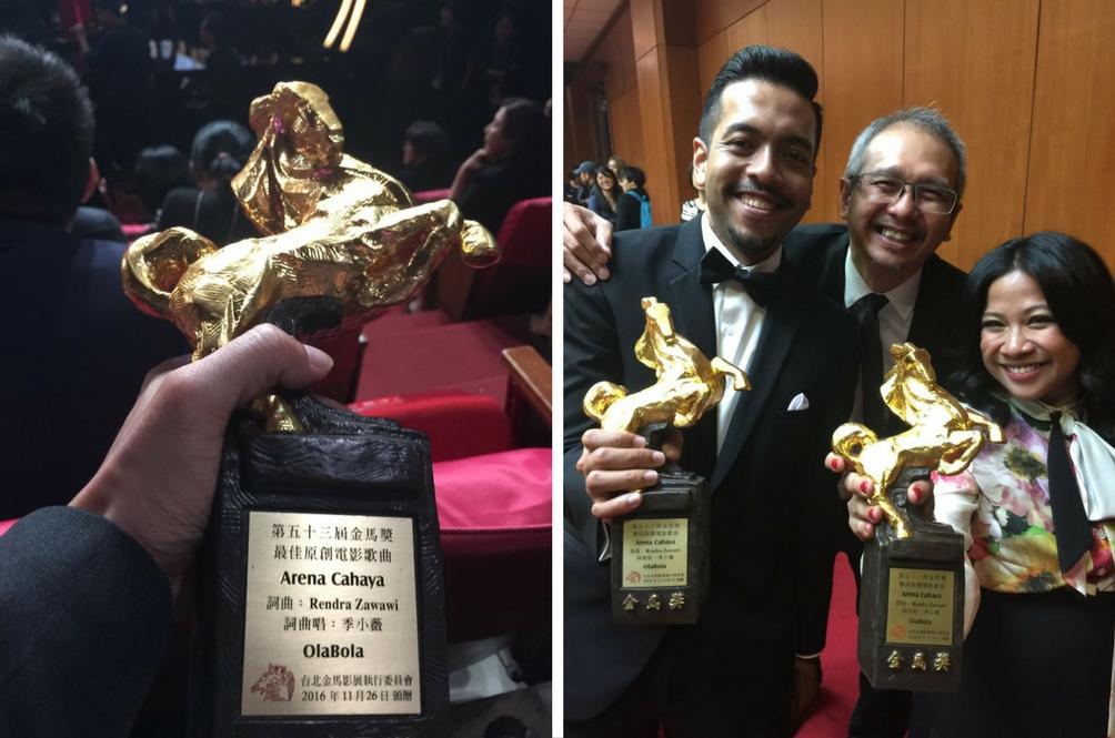 Zee Avi Anggap Luar Biasa Ola Bola Menang Golden Horse Awards