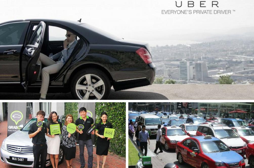 Gesa Uber, GrabCar Diharamkan