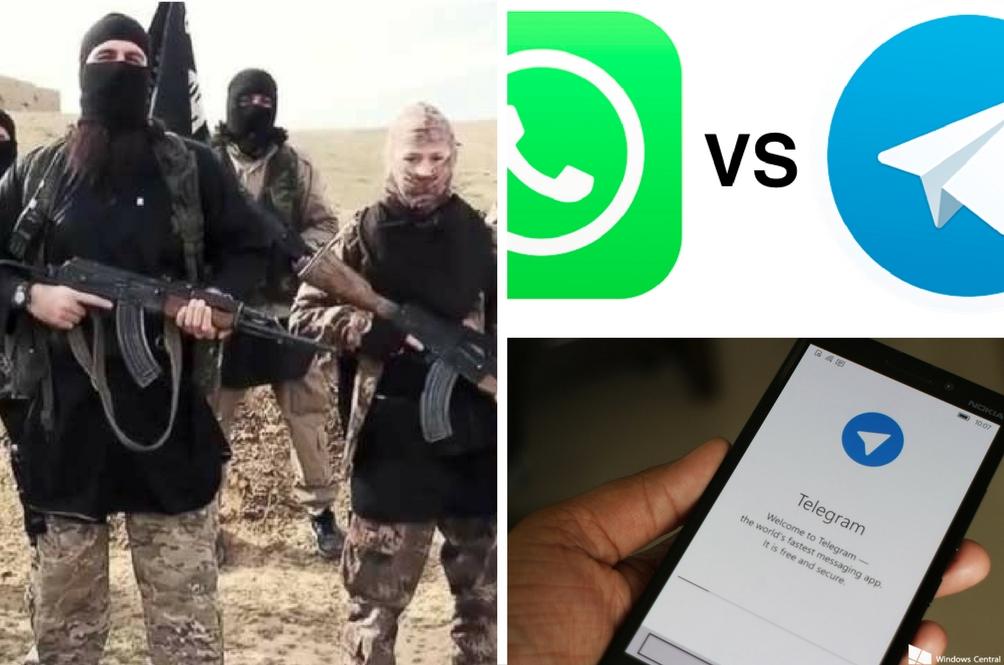 Mengapa Daesh Pilih Telegram Bukan WhatsApp?