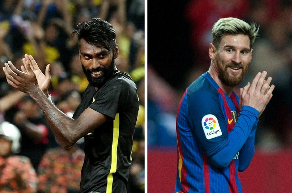 Mungkin N. Thanabalan Sehebat Lionel Messi?