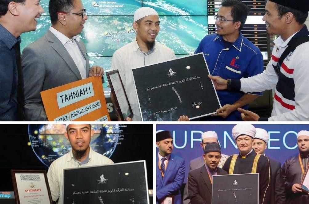 Qari Malaysia Juara Tilawah Antarabangsa