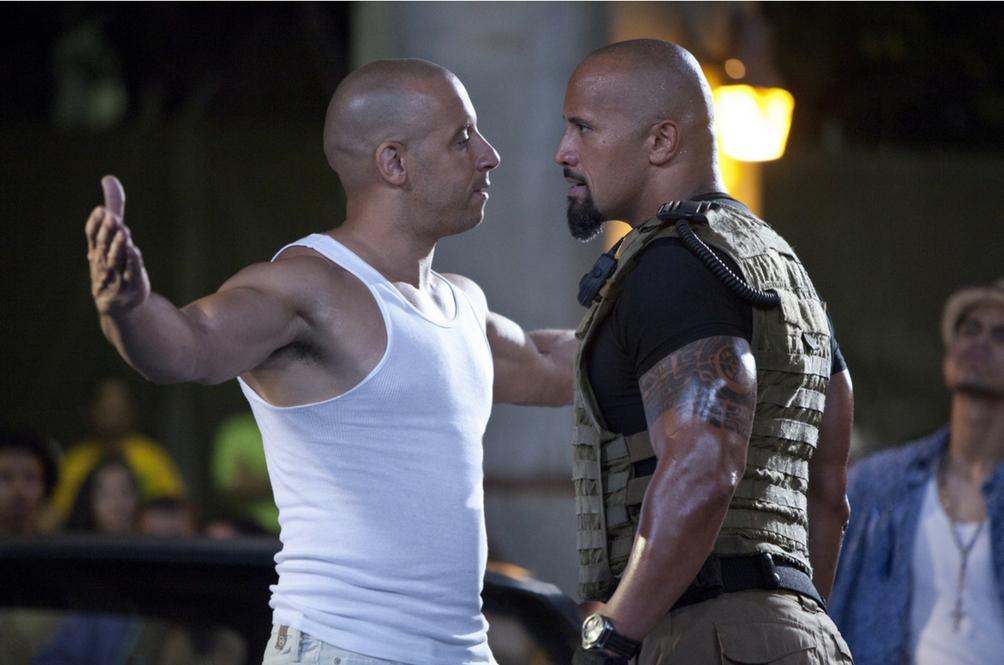 The Rock Sudah Lama Kecewa Sikap Vin Diesel