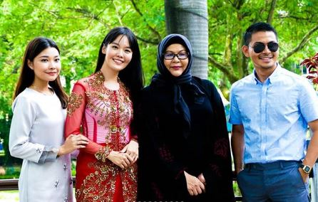 Nina Nadira, Mei Fen Lim, Erma Fatima dan Izzue Islam turut teruja membintangi teater bergenre patriotik ini
