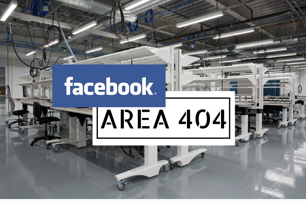Facebook Unveils Area 404 - Terminators to Follow