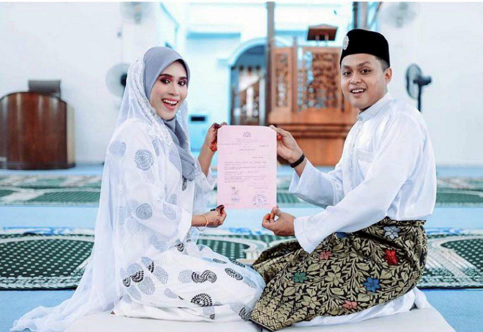 Pasangan ini telah dinikahkan pada November lalu.