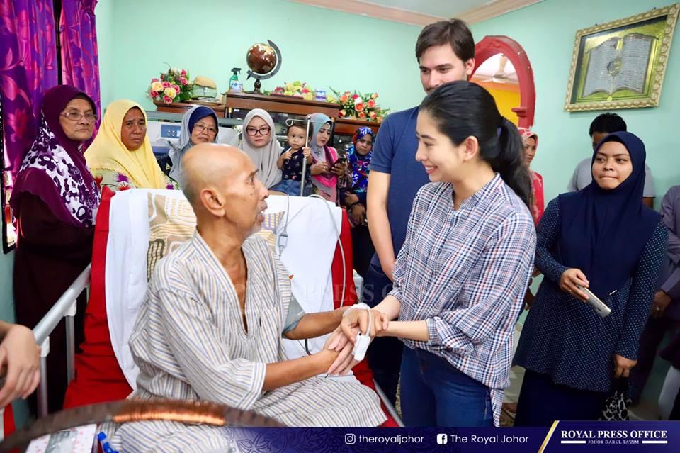 Gambar Tunku Tun Aminah Melawat Zaibo Ini Bakal Buat Air
