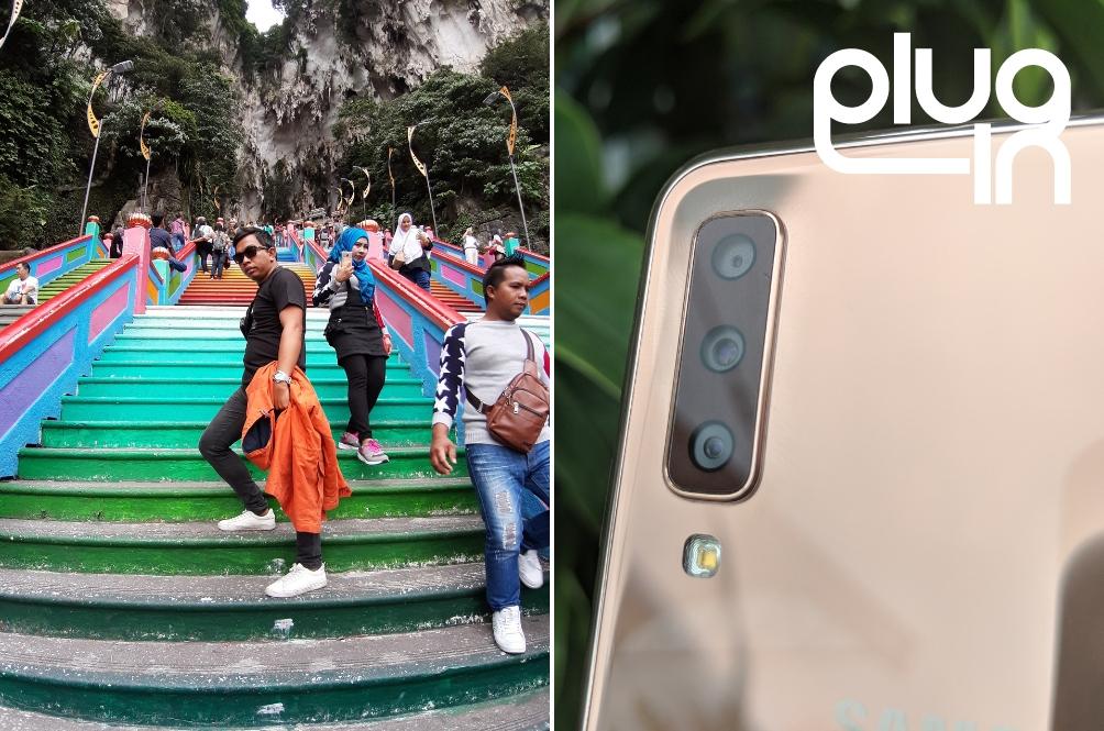 Plug-in: Kami Uji Lensa Ultra Wide Galaxy A7 Di Batu Caves Dan Ini Hasilnya!