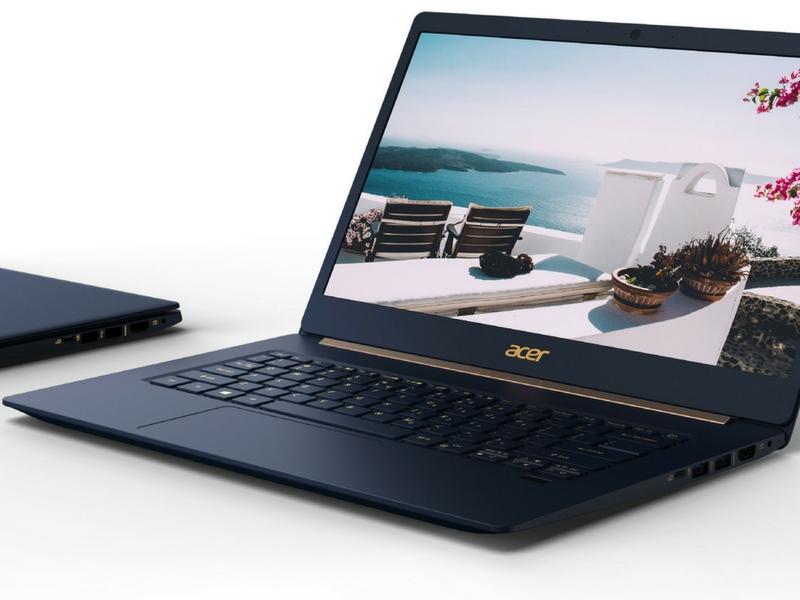 Acer menaik taraf Swift 5 dengan penggunaan Intel generasi kelapan.