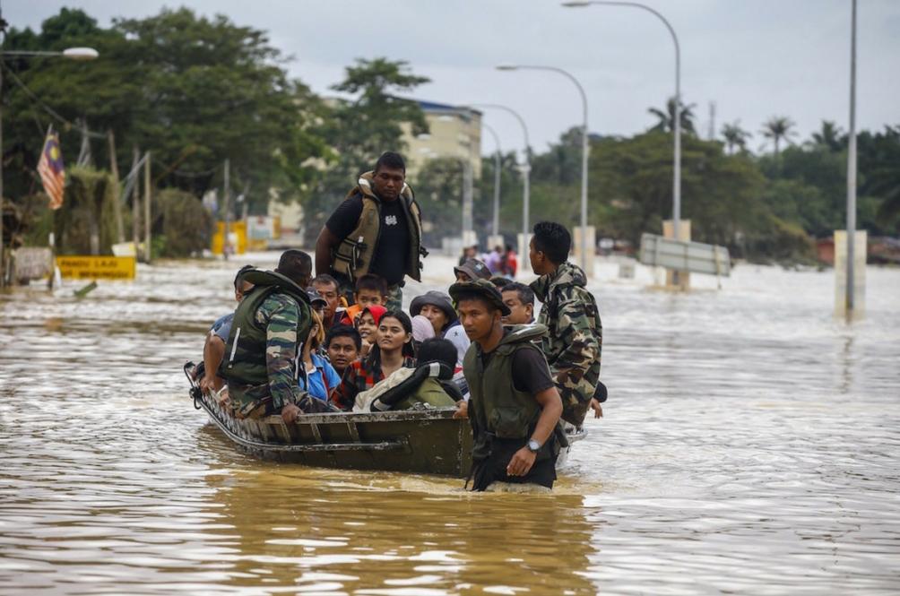 Dua Hari Hujan Lebat, Ini Info Perlu Anda Tahu Sekiranya Dilanda Banjir