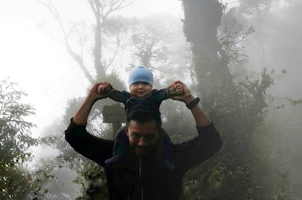 Bayi 6 Bulan Tawan Gunung Brinchang Dikecam Netizen