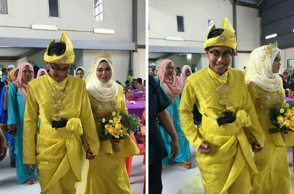 Gara-Gara Pistol RM45, Pengantin Terpaksa Beri Keterangan Pada Polis