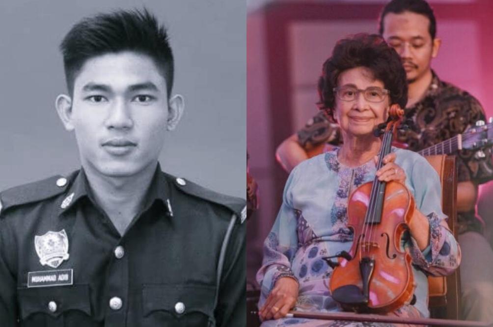 Gesekan Biola Tun Siti Hasmah, Dedikasi Khas Untuk Allahyarham Adib