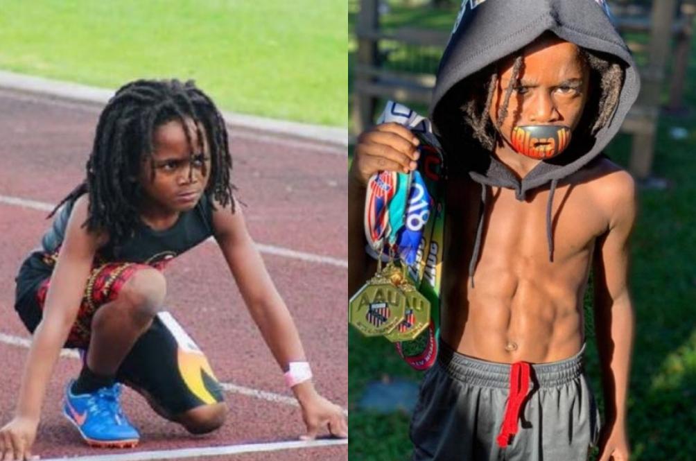Usain Bolt Junior? Blaze Berusia 7 Tahun Ini Mungkin Kanak-Kanak Terpantas Di Dunia!