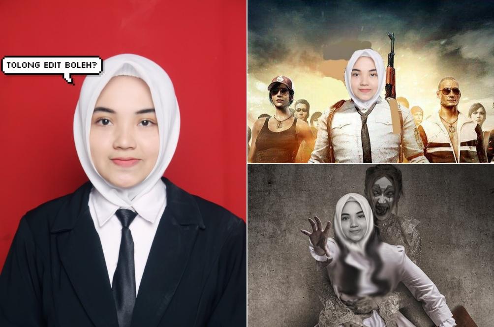 Minta Orang Edit Gambar, Gadis Ini Jadi Mangsa 'Kreativiti' Warga Twitter