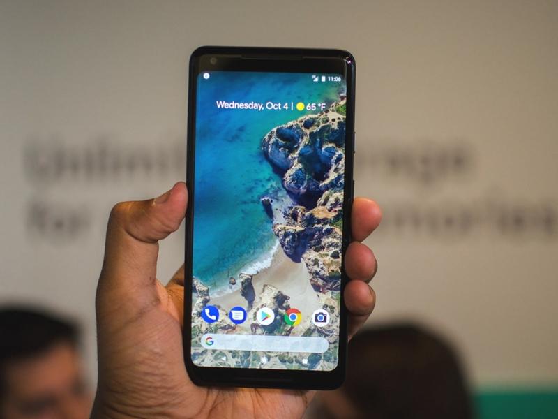 Telefon generasi kedua daripada Google di bawah siri Pixel.