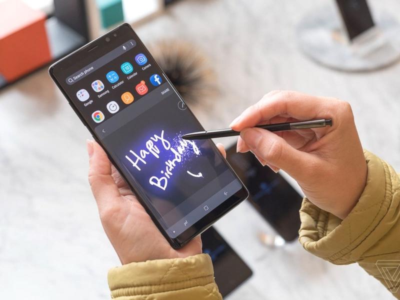 Tiada telefon pintar lain yang memfokuskan fungsi stylus seperti Galaxy Note 8.