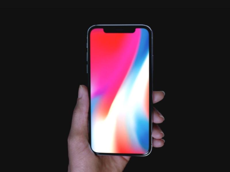 Skrin OLED iPhone ini dihasilkan oleh Samsung.