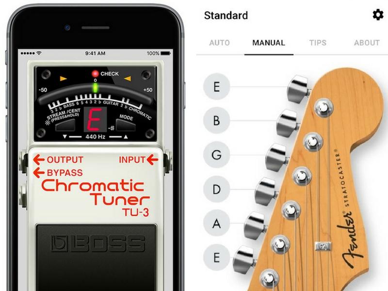 Aplikasi 'tuner' ini boleh dimuat turun di Google Play Store ataupun AppStore.