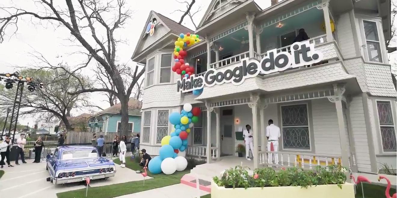 Selamat datang ke rumah Google!