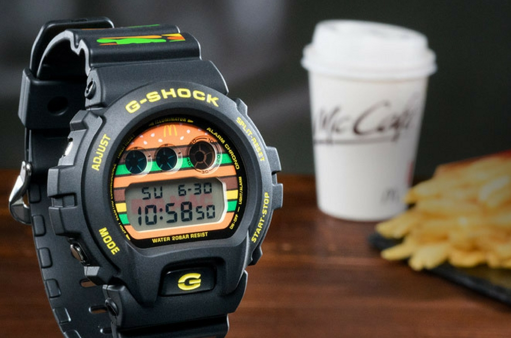 Jam G-Shock Big Mac? 'Im Lovin It'