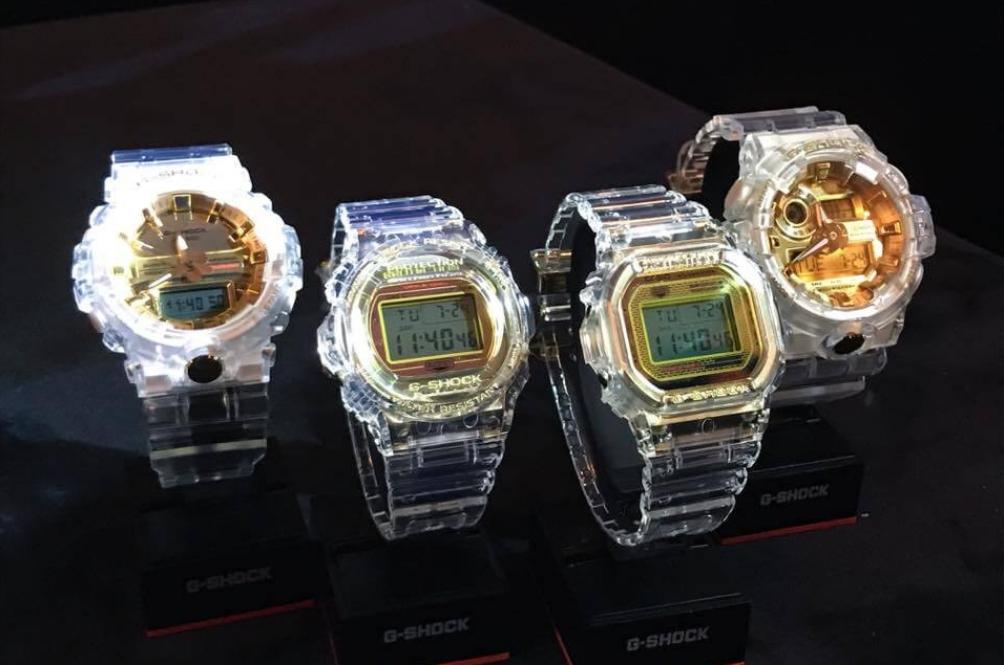 G-Shock Terbaru Kini Lebih 'Transparent' Dan Nampak Mewah!