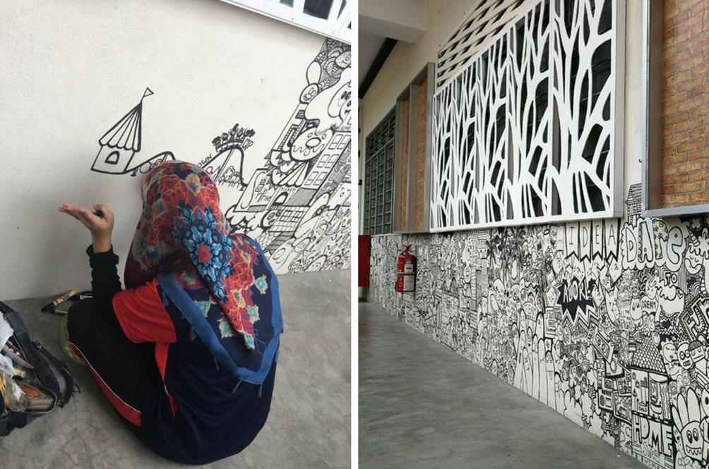 Karya 'Doodle' Guru Ini Dapat Pujian Ramai Hingga Netizen Berminat Guna Khidmatnya
