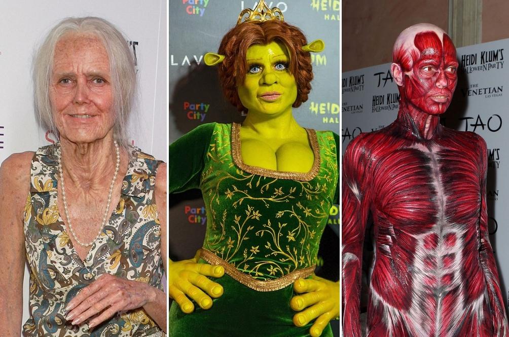 Digelar Sebagai Queen of Halloween, Ini 10 Kostum Heidi Klum Paling Gila!