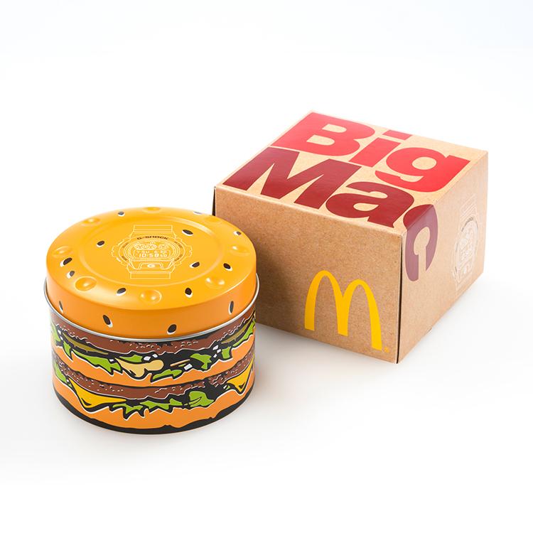 Kotak bungkusan yang sama seperti pembelian burger.