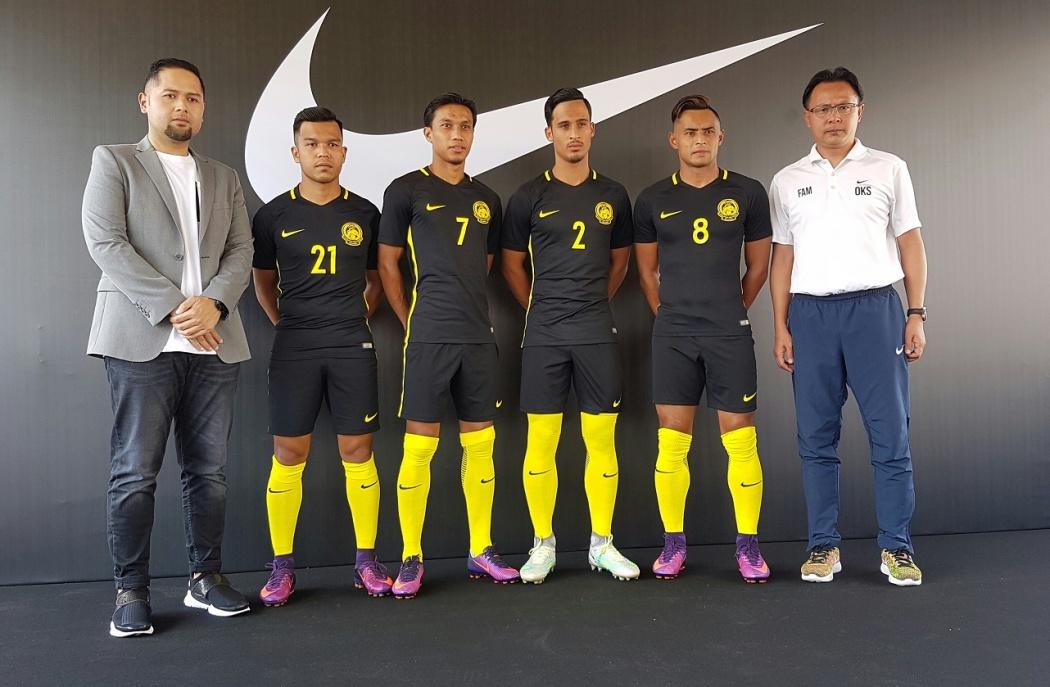 Nike Harimau Malaya 2016-2018.