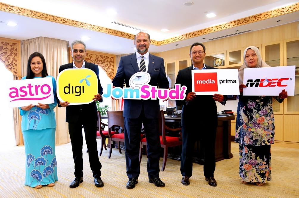 Jom Studi! Pembelajaran Digital Terbaru Astro, Digi Dan Media Prima