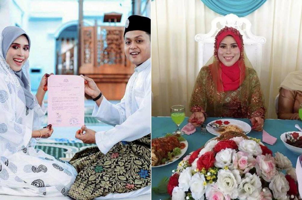 Pengantin Ini Terpaksa Bersanding Solo Tanpa Suami Di Sisi