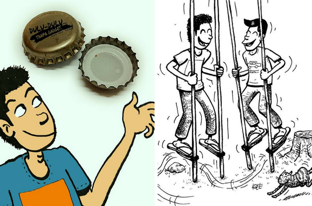 Karya Kartunis Ini Mampu Kembalikan Pengalaman 'Throwback' Anda